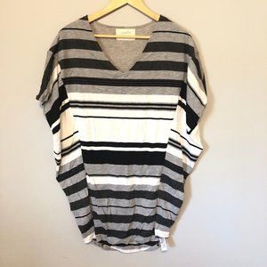 Anthropologie Puella Striped Bat Wing Tunic Sz XS